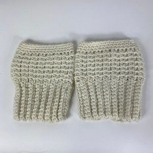 *Cute crochet boot covers*